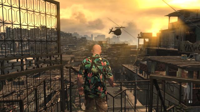Max Payne em São Paulo (clique para ampliar).